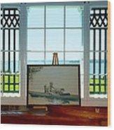 Marjorie Van Wickle Naragansett Wood Print