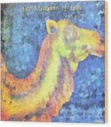 Mark 10 25 Wood Print