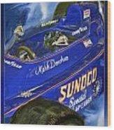 Mark Donohue 1972 Indy 500 Winning Car Wood Print