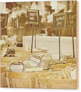 Market Day Wood Print