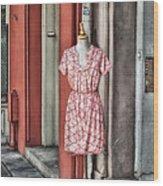 Market Fashion Wood Print