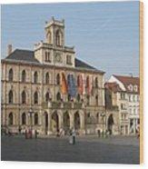 Market Place Weimar - Unesco Heritage Site Wood Print