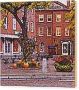 Market Square Harvest - 2005 Wood Print
