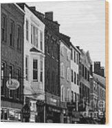 Market Street Wood Print