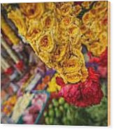 Marketplace Wood Print