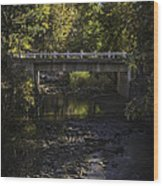 Markleeville Creek Wood Print