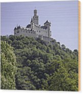 Marksburg Castle 14 Wood Print