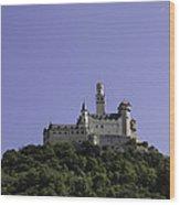 Marksburg Castle 19 Wood Print