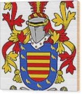 Marlay Coat Of Arms Irish Wood Print