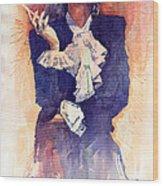 Marlen Dietrich  Wood Print