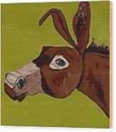 Marlene The Mule Wood Print