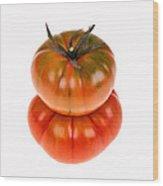 Marmande Tomatoes Wood Print