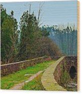 Marnel Medieval Bridge Wood Print