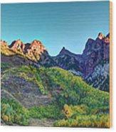 Maroon Bells National Recreation Area Wood Print