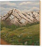 Maroon Trail Splendor Wood Print