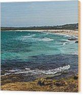 Maroubra Bay Wood Print