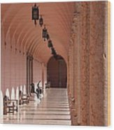 Marple Archway Wood Print