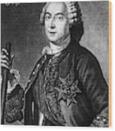 Marquis De Vaudreuil (1698-1778) Wood Print