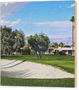 Marrakesh Golf Palm Springs Wood Print