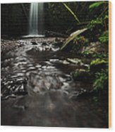 Marriners Falls Wood Print