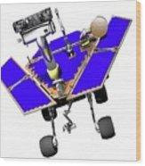 Mars Exploration Rover Wood Print