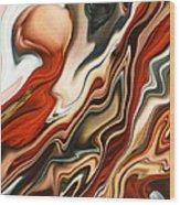 Mars Meets Venus 2 Wood Print