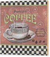 Marsala Coffee 2 Wood Print