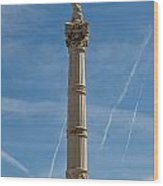 Marseilles Monument Wood Print