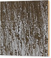 Marsh Grass Reflections Abstract 2 Wood Print