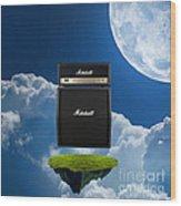 Marshall Amp Wood Print
