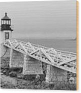 Marshall Point Lighthouse 2937 Wood Print