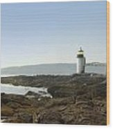 Marshall Point Lighthouse - Panoramic Wood Print