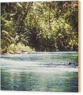 Martha Brae River Wood Print