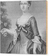 Martha Washington (1732-1801) Wood Print