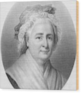 Martha Washington (1732-1802) Wood Print