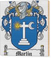 Martin Coat Of Arms Galway Ireland Wood Print