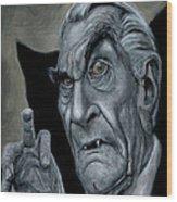 Martin Landau As Bela Wood Print