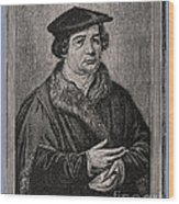 Martin Luther Wood Print