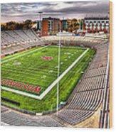 Martin Stadium At Washington State Wood Print by David Patterson