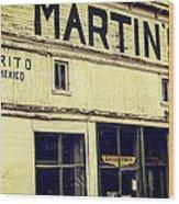 Martins General Store Wood Print