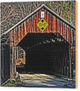 Martinsville Wood Print