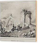 Martorell. Puente Del Diablo Or Devils Wood Print