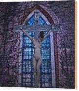Martyr Of The Church V Wood Print