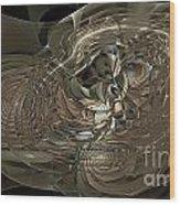 Marucii 248-02-13 Abstraction Wood Print
