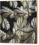 Marucii 258-06-13 Abstraction Wood Print