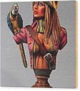 Marvella Wood Print