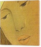 Mary #2 Wood Print