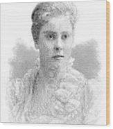 Mary Crowninshield Endicott Chamberlain Wood Print