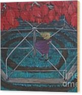 Mary Go Round Wood Print
