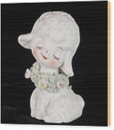 Mary Had A Little Lamb Wood Print
